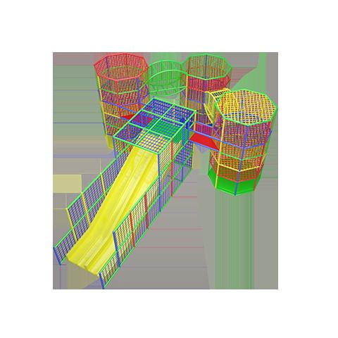 Аттракционы Репсовые башни