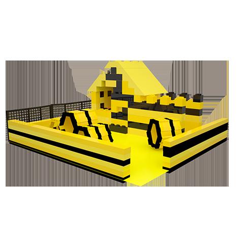 Аттракцион лего